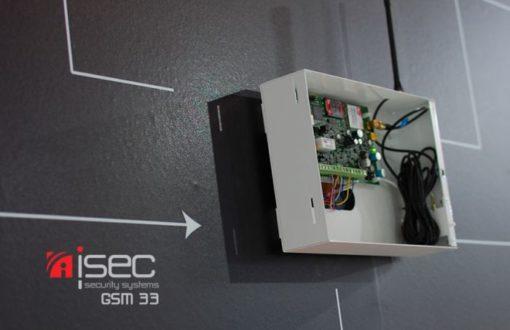 Συσκευή επικοινωνίας i-Sec GSM33