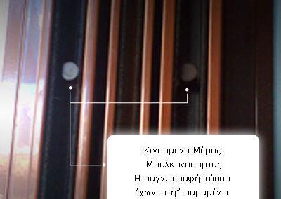 Χωνευτή μαγνητική επαφή