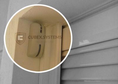 Εξωτερική ασφάλεια με ραντάρ κουρτίνας